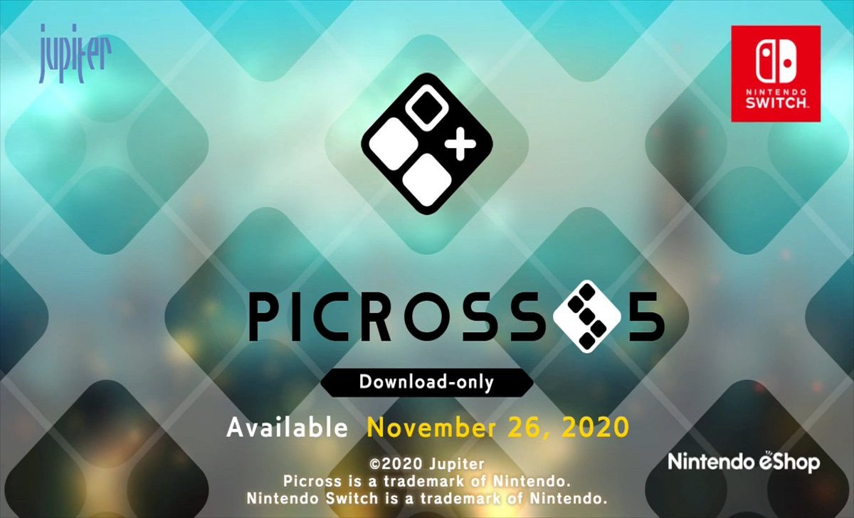 Picross S5 | Jogo é anunciado para Nintendo Switch