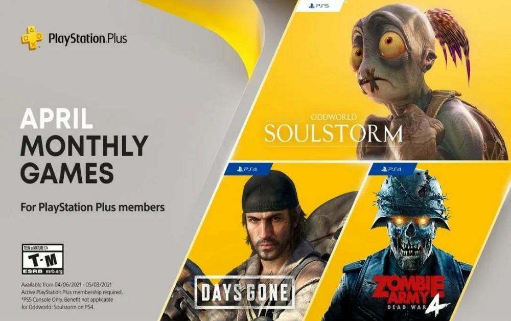 PlayStation Plus | Confira os jogos de abril