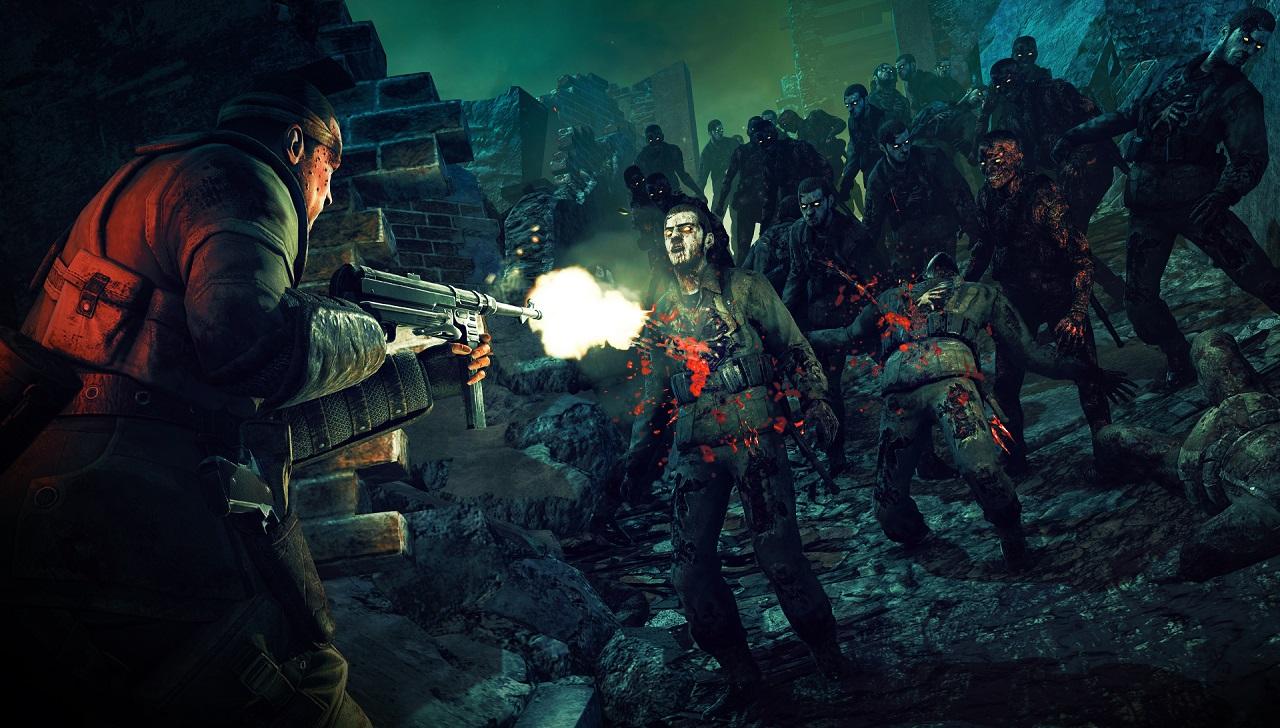 Zombie Army 4 - Jogo coloca você diante de hordas zumbis nazistas!