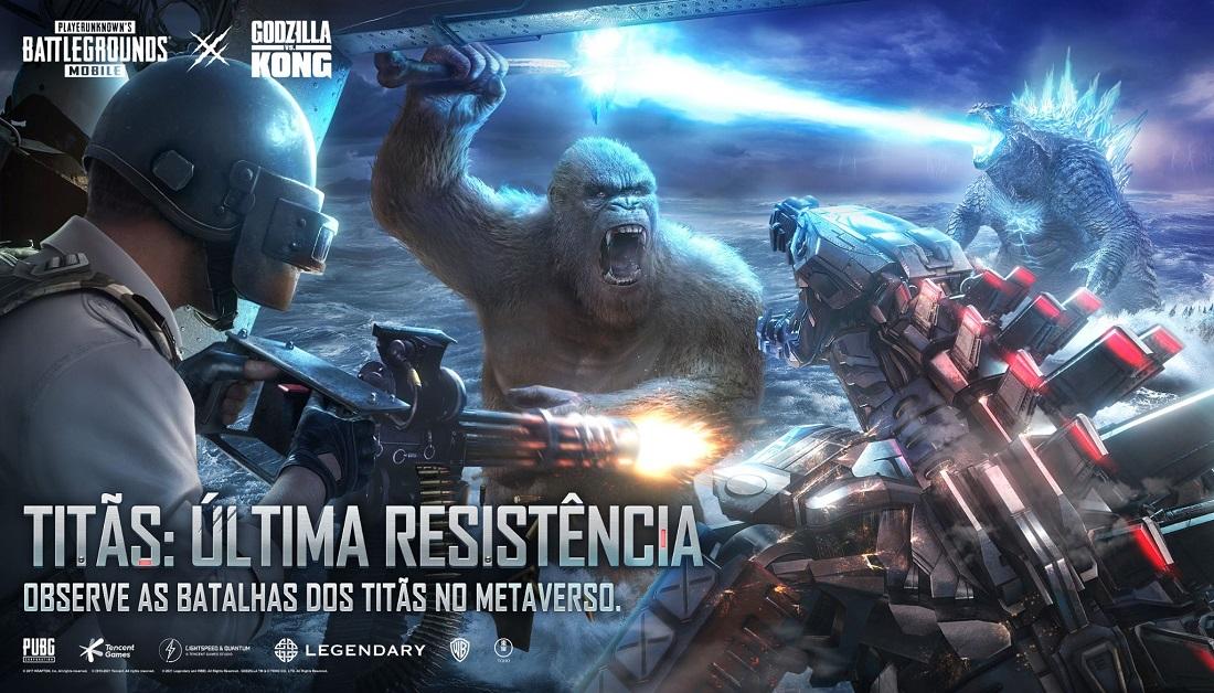 Godzilla VS. Kong | Novo capitulo disponível
